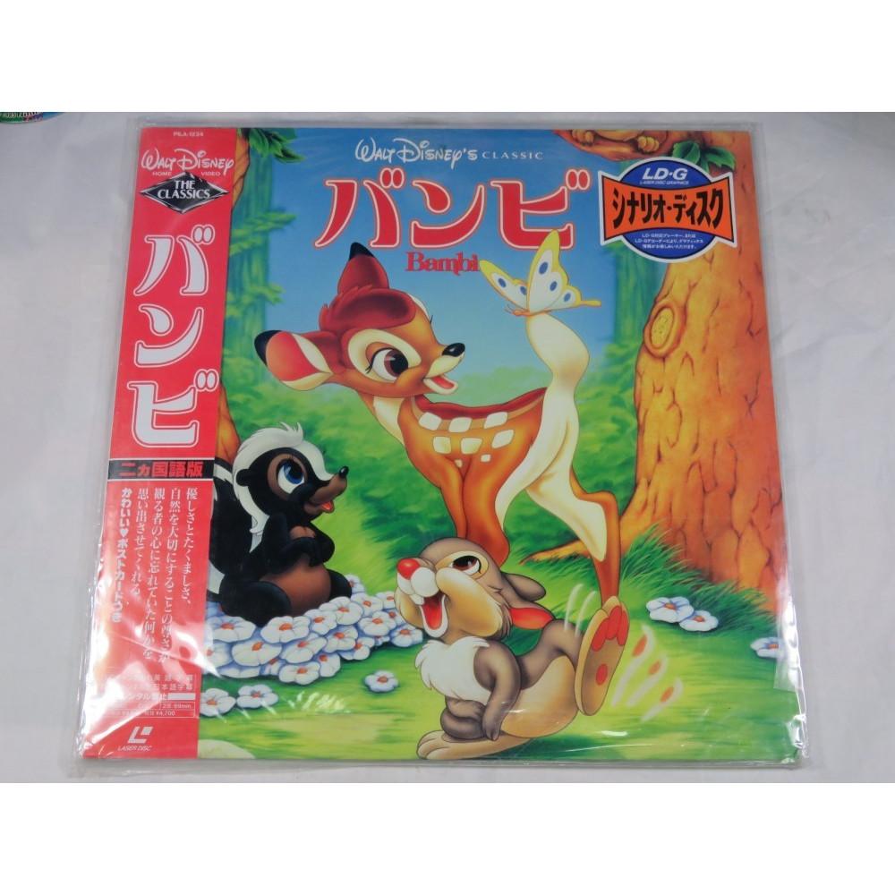 BAMBI LASER DISC NTSC-JPN OCCASION
