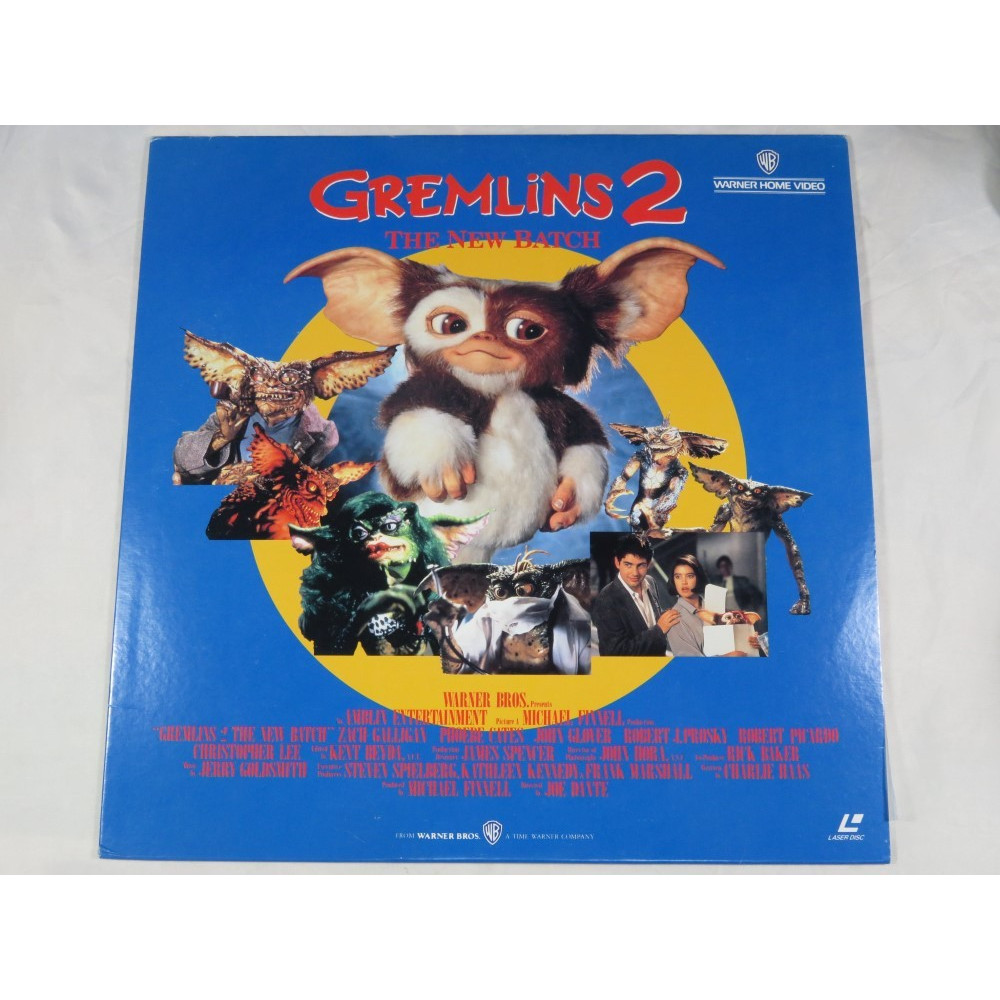 GREMLINS 2 THE NEW BATCH LASER DISC NTSC-JPN OCCASION