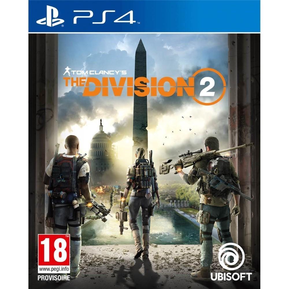 THE DIVISION 2 PS4 ALLEMAND AVEC TEXTE EN FRANCAIS OCCASION