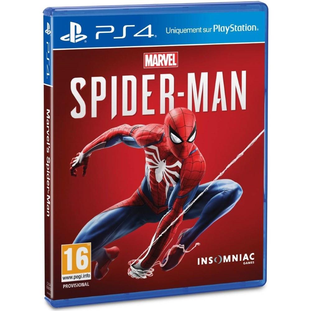 SPIDERMAN PS4 UK OCCASION TEXTE EN ANGLAIS