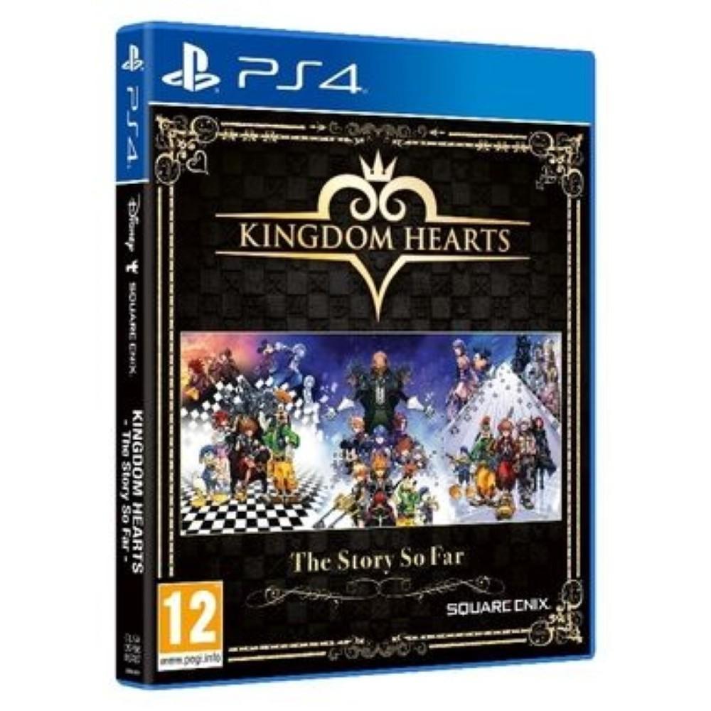KINGDOM HEARTS THE STORY SO FAR PS4 FR NEW