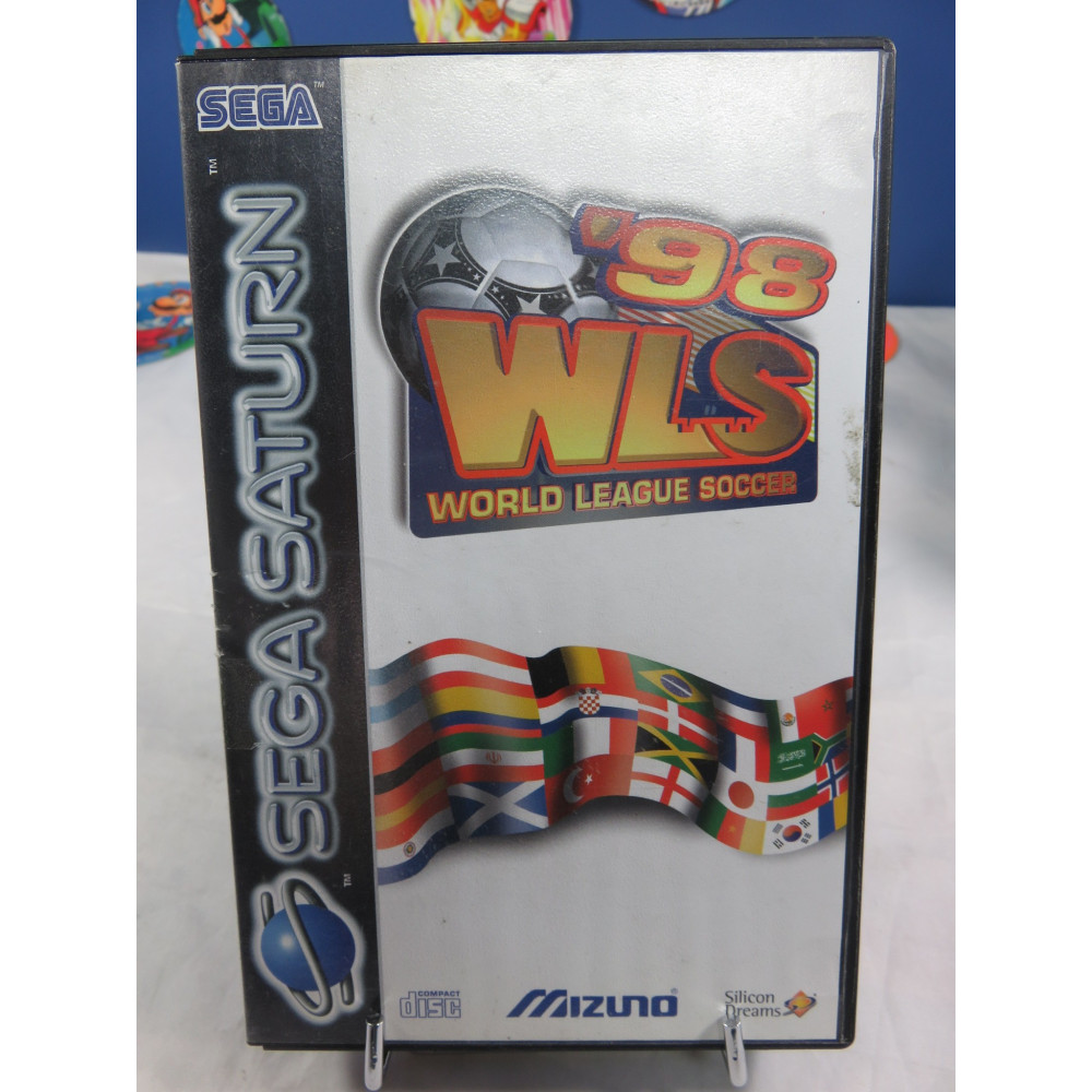WORLD LEAGUE SOCCER 98 SATURN PAL-EURO OCCASION (ETAT B)