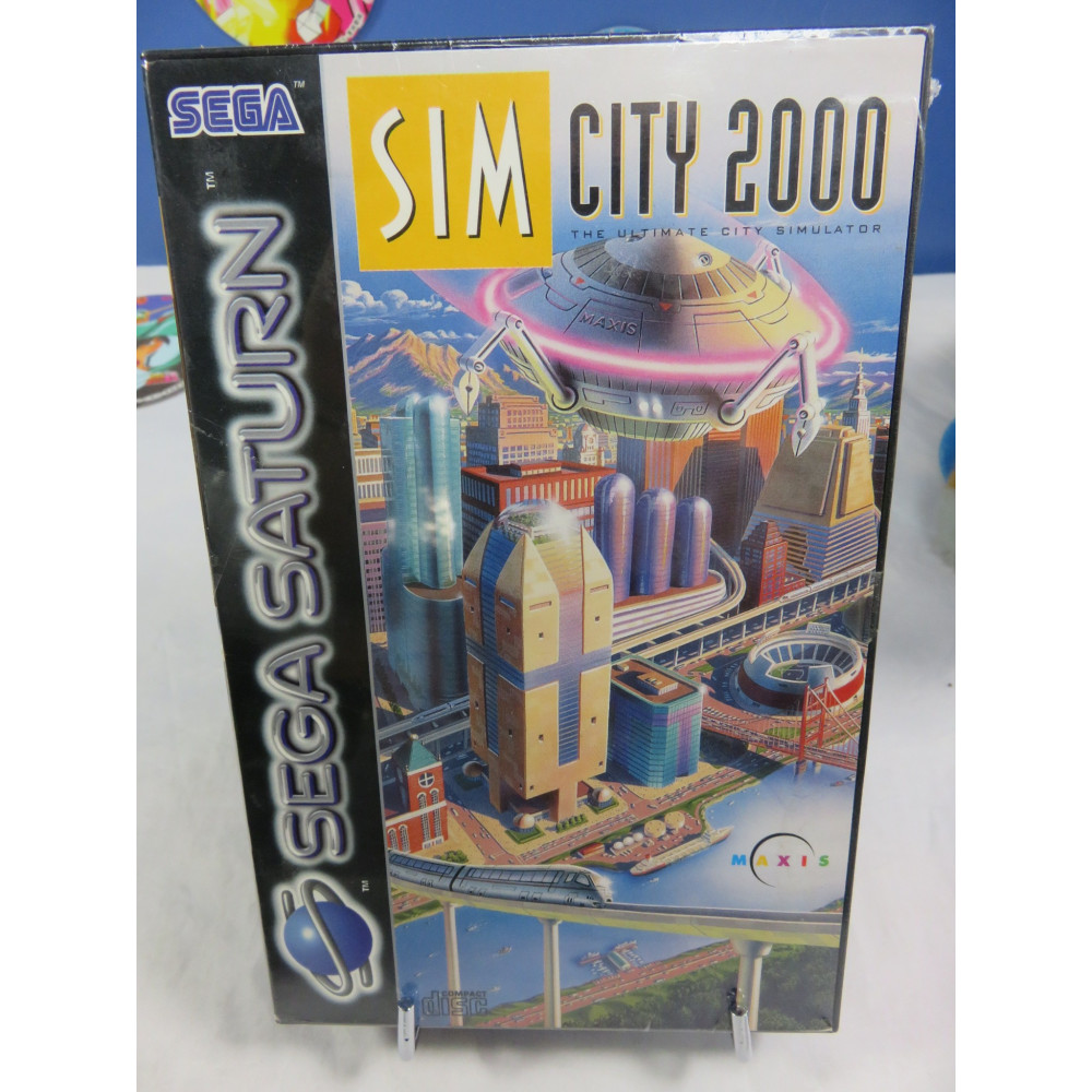 SIM CITY 2000 SATURN PAL-EURO OCCASION