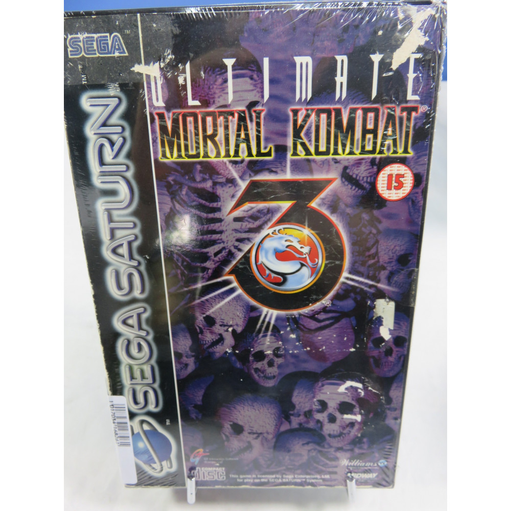 ULTIMATE MORTAL KOMBAT 3 SATURN PAL-EURO OCCASION