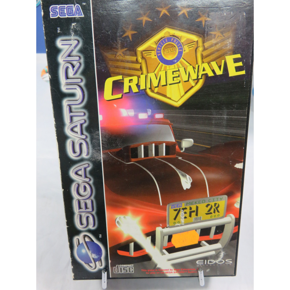 CRIMEWAVE SATURN PAL-EUR OCCASION