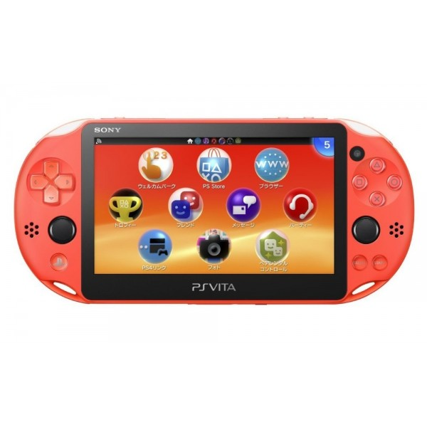 CONSOLE PS VITA WIFI SLIM NEON ORANGE JAP