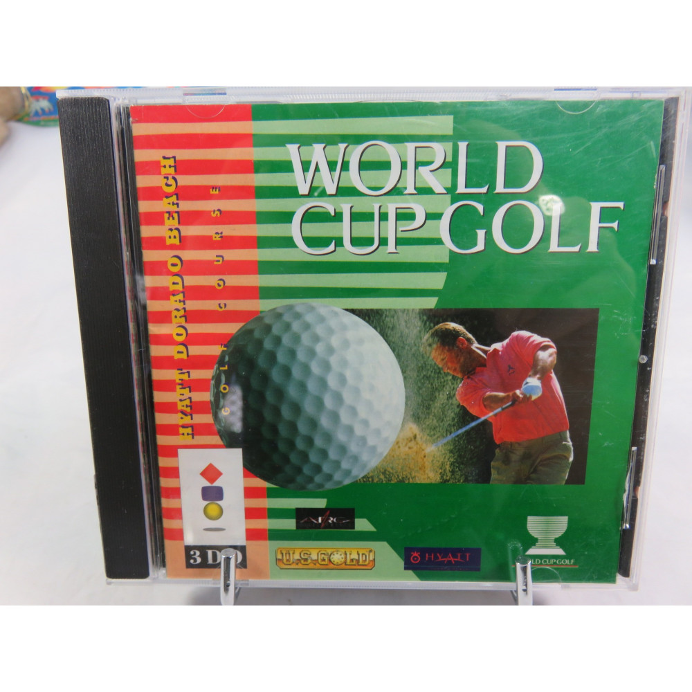 WORLD CUP GOLF 3DO USA OCCASION (ETAT B)