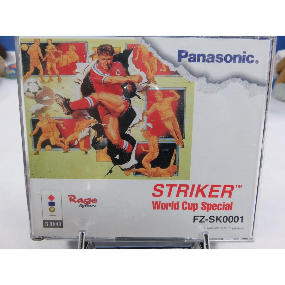 STRIKER WORLD CUP SPECIAL 3DO EURO OCCASION (ETAT B)