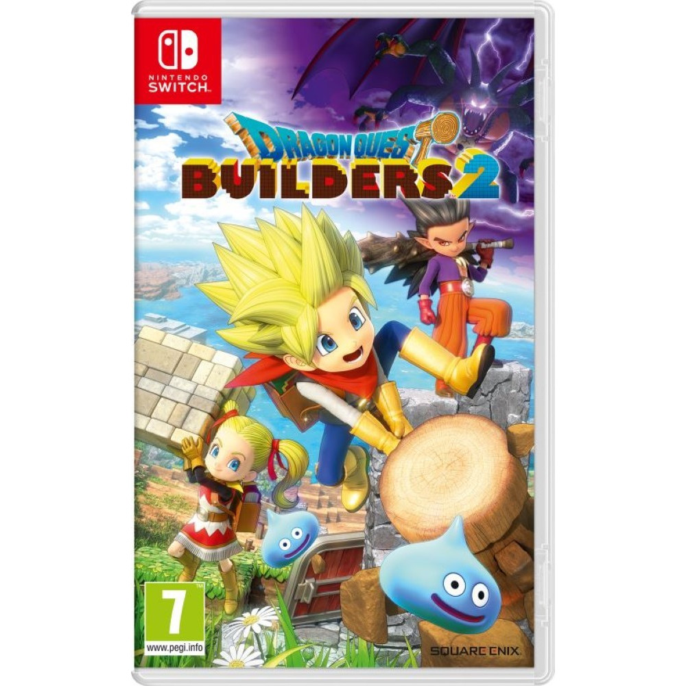 DRAGON QUEST BUILDERS 2 SWITCH FR NEW