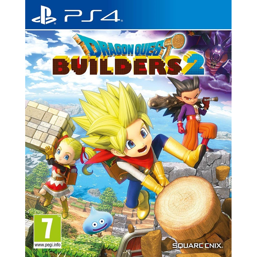 DRAGON QUEST BUILDERS 2 PS4 FR NEW