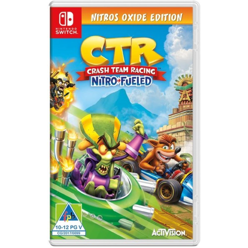 CRASH TEAM RACING NITRO FUELED OXIDE EDITION SWITCH EURO FR OCCASION