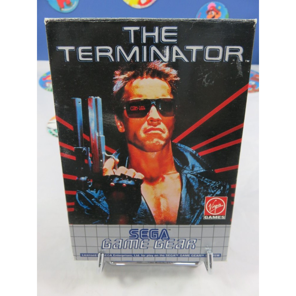 THE TERMINATOR GAME GEAR EURO OCCASION