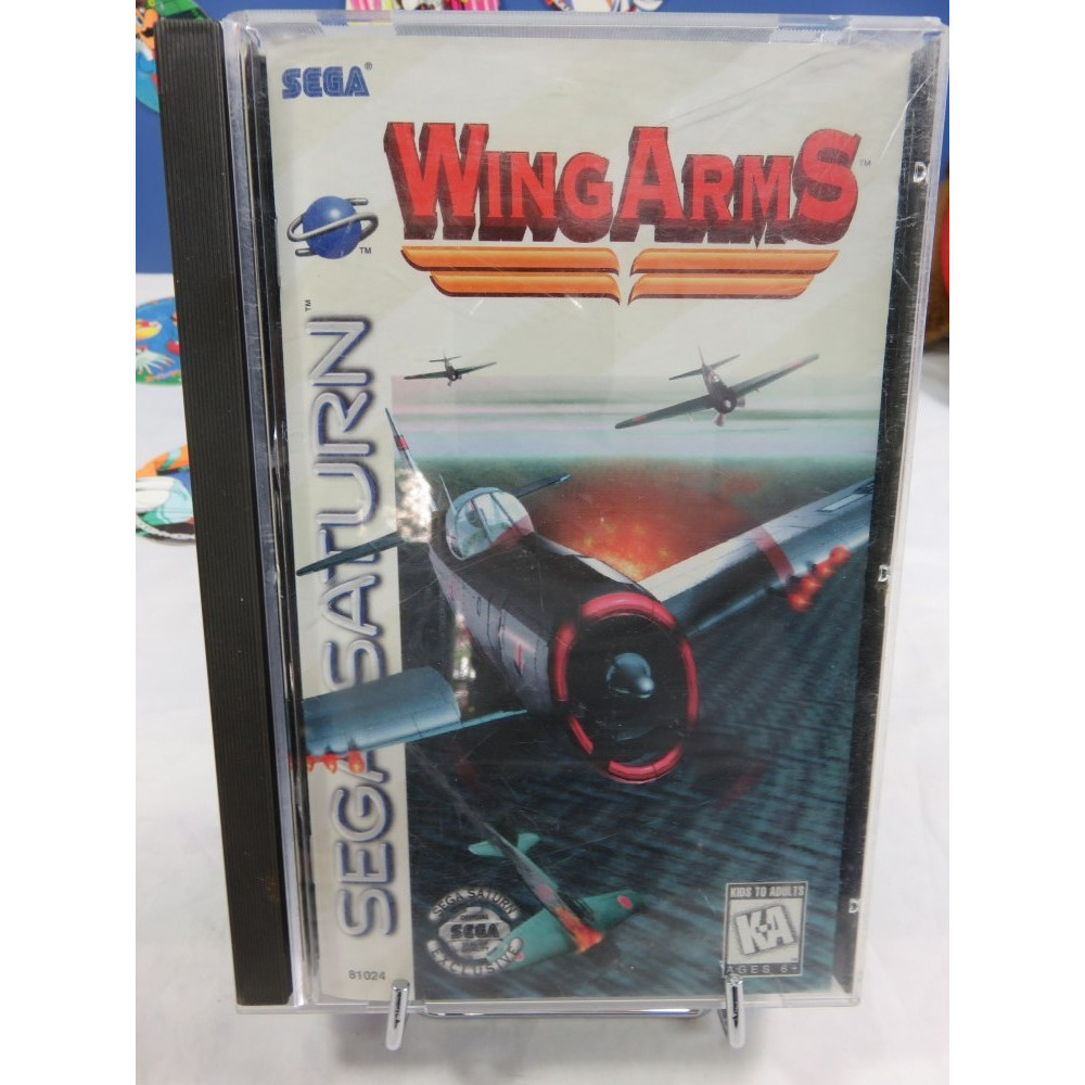 WING ARMS SATURN NTSC-USA OCCASION