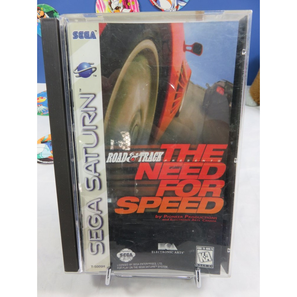 THE NEED FOR SPEED SATURN NTSC-USA OCCASION