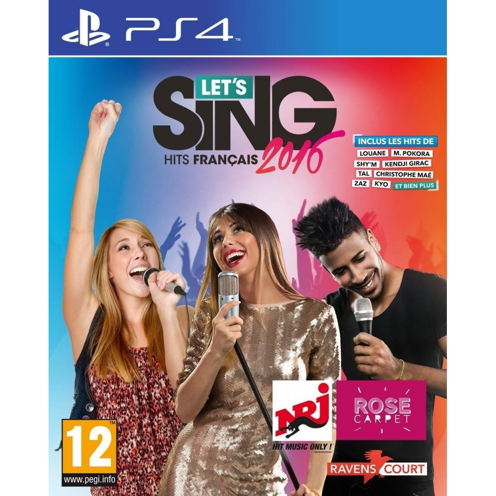 LET S SING 2016 FRANCAIS PS4 VF
