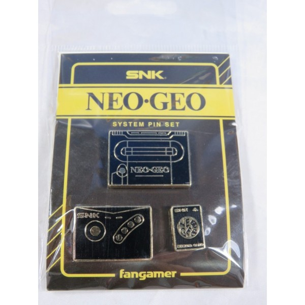 SNK NEO GEO SYSTEM PIN SET NEW