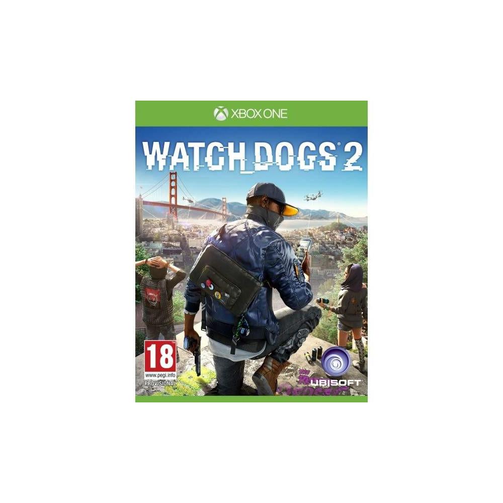 WATCH DOGS 2 BUNDLE COPY XBOX ONE UK OCCASION