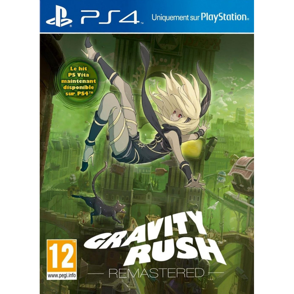 GRAVITY RUSH REMASTERED BUNDLE COPY PS4 FR OCCASION