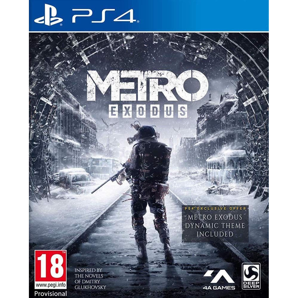 METRO EXODUS PS4 UK OCCASION