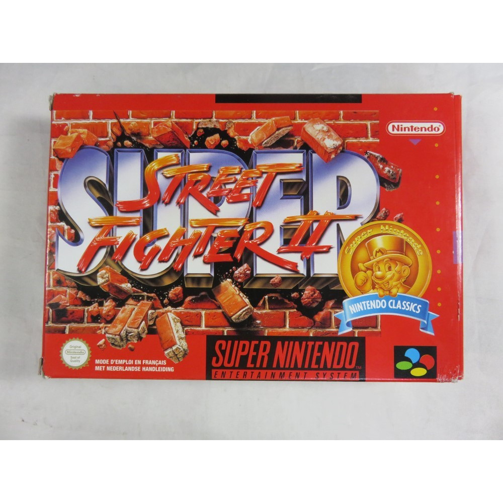 SUPER STREET FIGHTER II CLASSICS SUPER NINTENDO PAL-FAH OCCASION