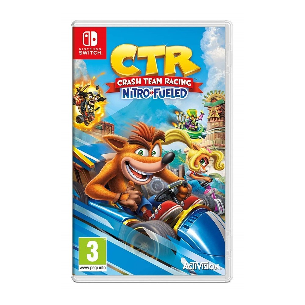CRASH TEAM RACING NITRO FUELED SWITCH FR OCCASION