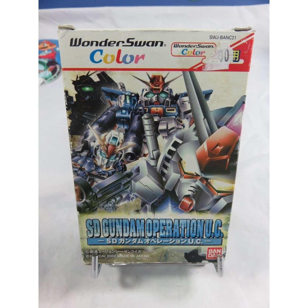 SD GUNDAM OPERATION U.C. WONDERSWAN JPN OCCASION