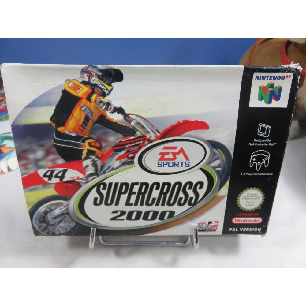 SUPERCROSS 2000 NINTENDO 64 PAL-EUR OCCASION