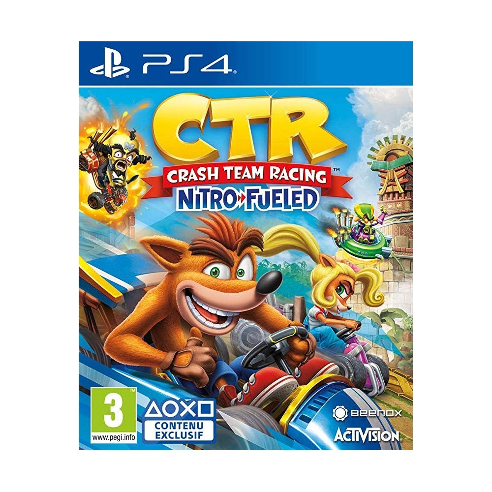 CRASH TEAM RACING NITRO FUELED PS4 EURO FR OCCASION