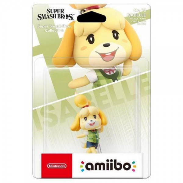 AMIIBO ISABELLE SUPER SMASH BROS N 73 EURO NEW