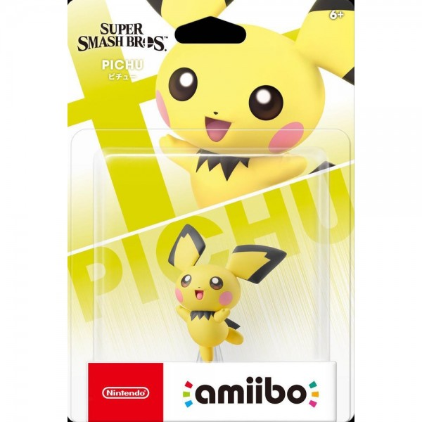 AMIIBO PICHU SUPER SMASH BROS N 72 EURO NEW