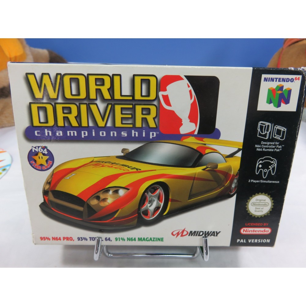 WORLD DRIVER CHAMPIONSHIP NINTENDO 64 PAL-EUR OCCASION