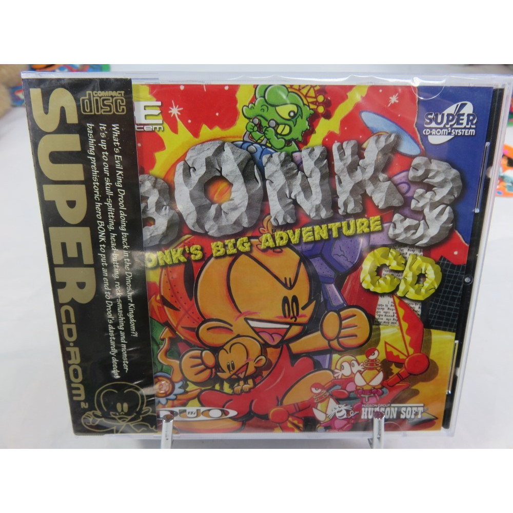 BONK S 3 BIG ADVENTURE BOOTLEG NEC CDROM 2 NTSC-JPN NEW