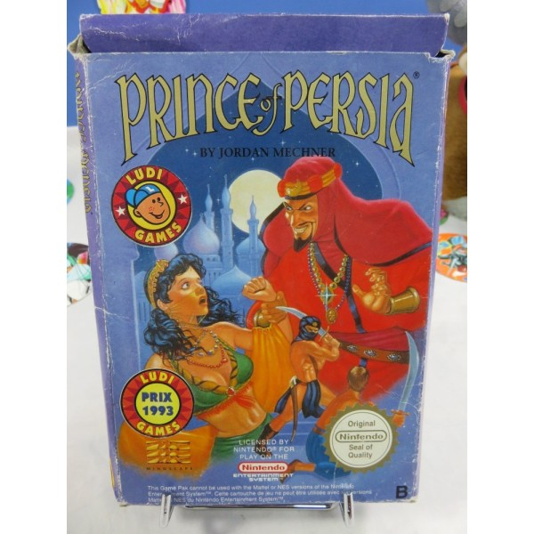 PRINCE OF PERSIA SANS NOTICE NINTENDO NES PAL-FRA OCCASION