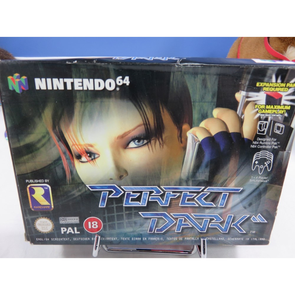 PERFECT DARK SANS NOTICE NINTENDO 64 PAL-EURO OCCASION