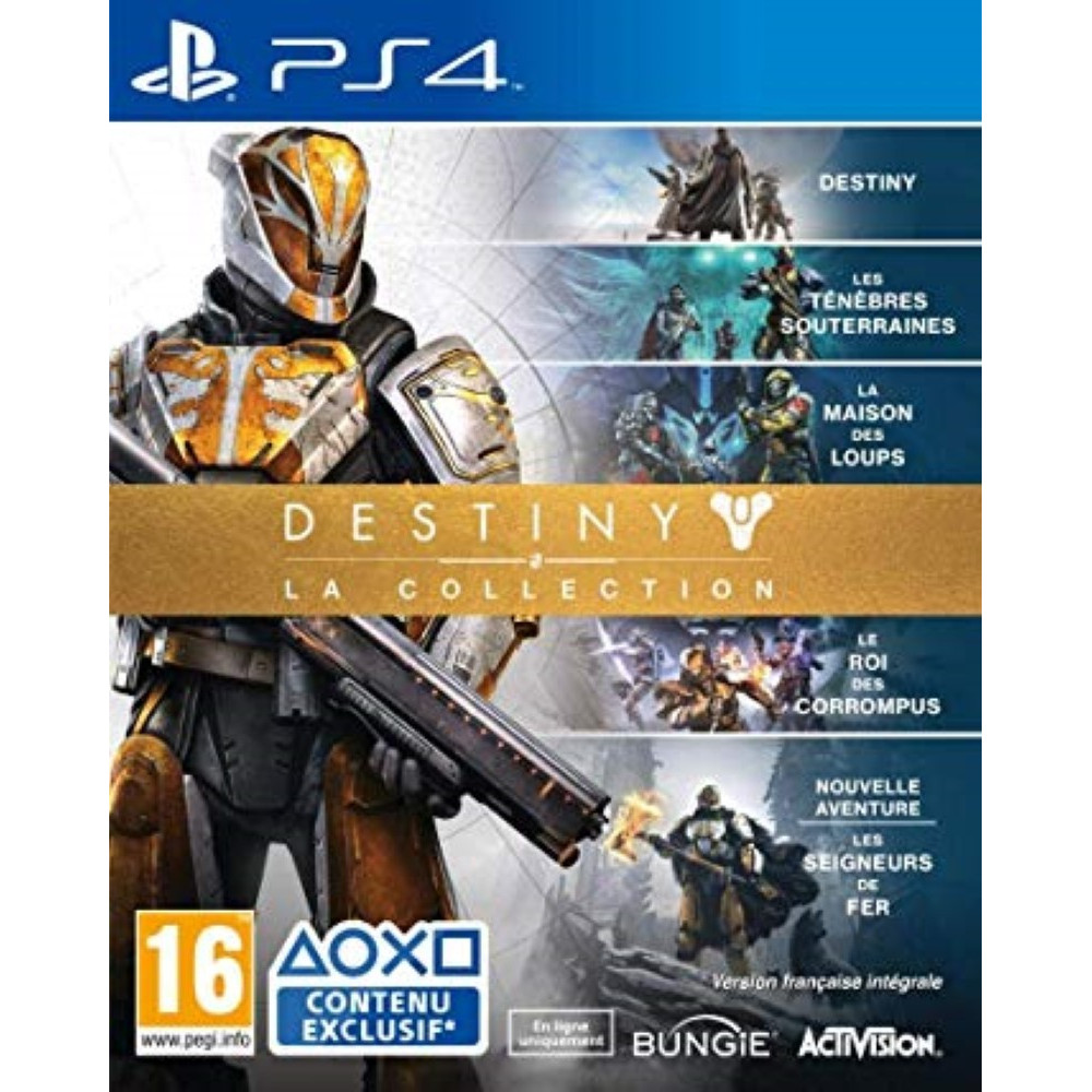 DESTINY THE COLLECTION PS4 UK OCCASION