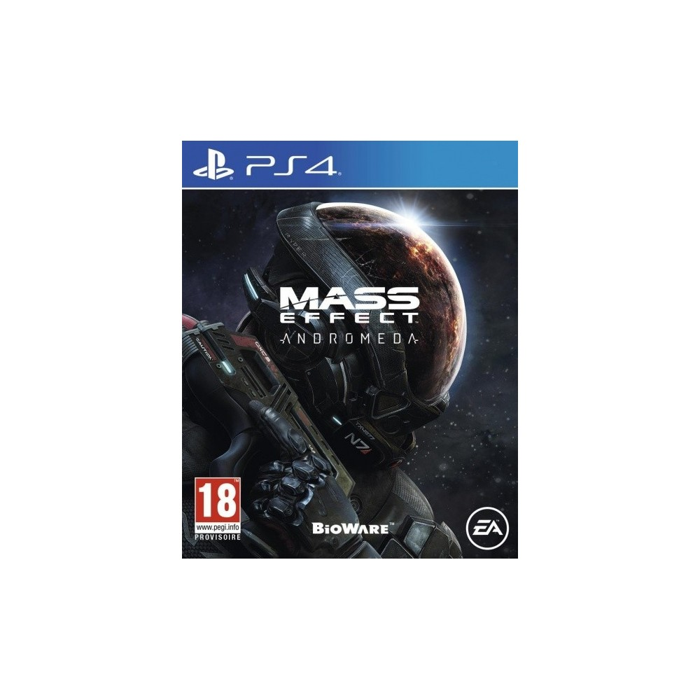 MASS EFFECT ANDROMEDA PS4 UK OCCASION