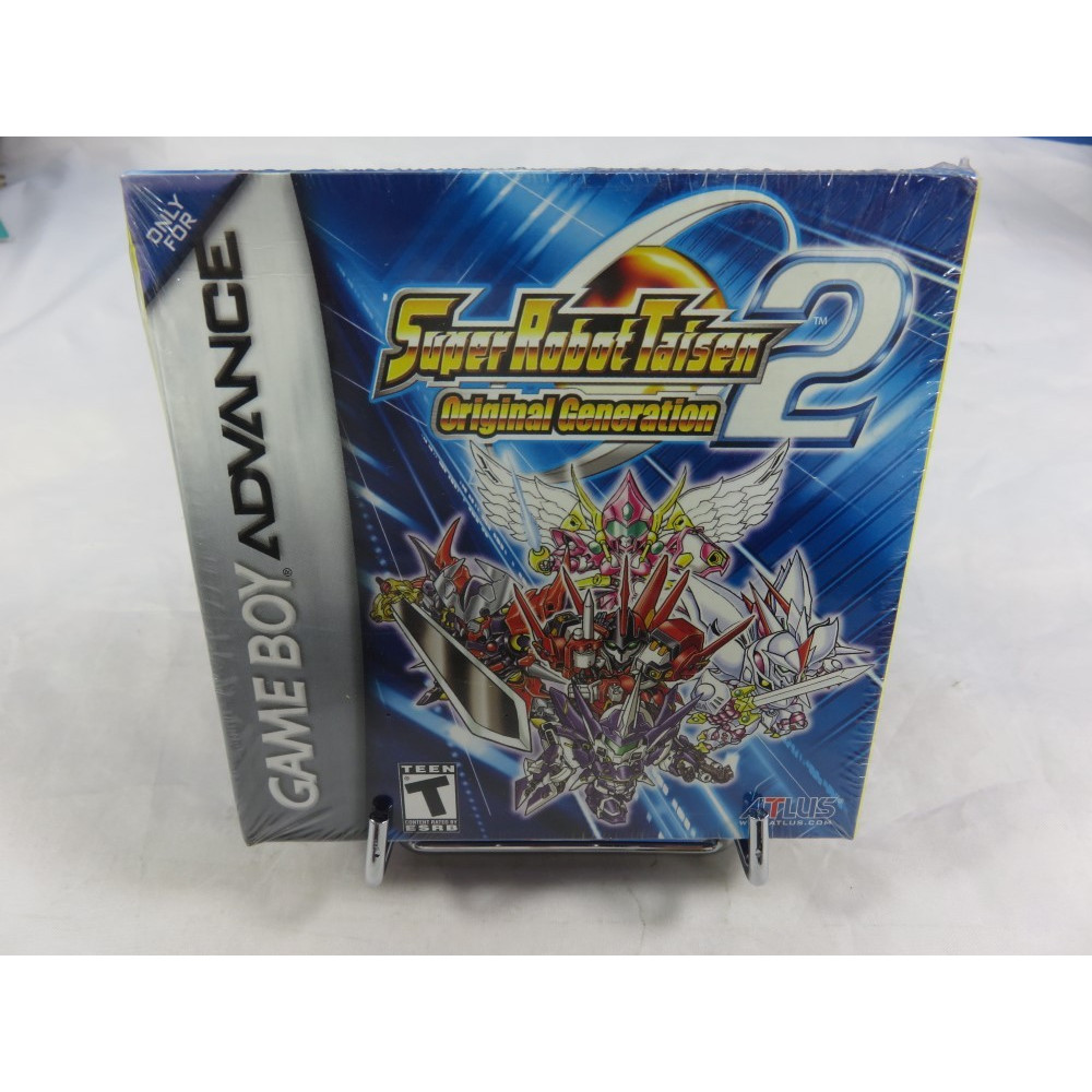 SUPER ROBOT TAISEN ORIGINAL GENERATION 2 GBA USA NEW