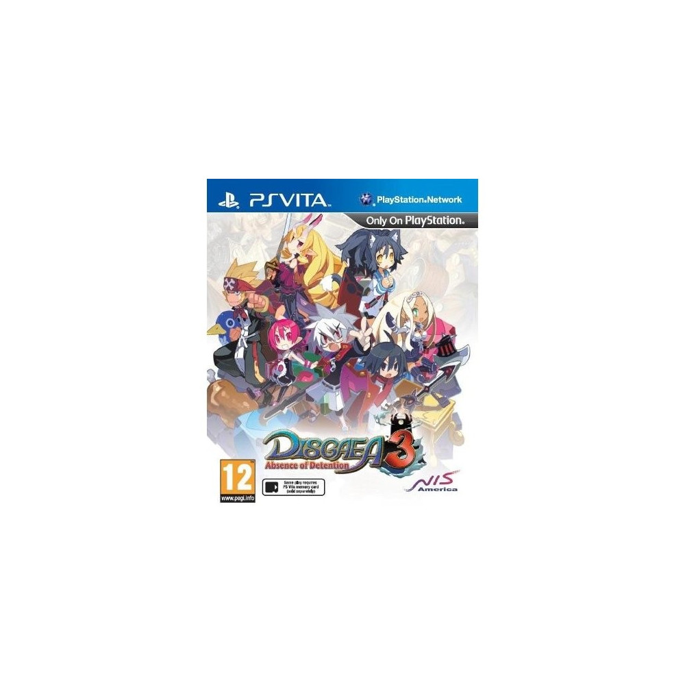 DISGAEA 3 ABSENCE OF DETENTION PSVITA UK OCCASION