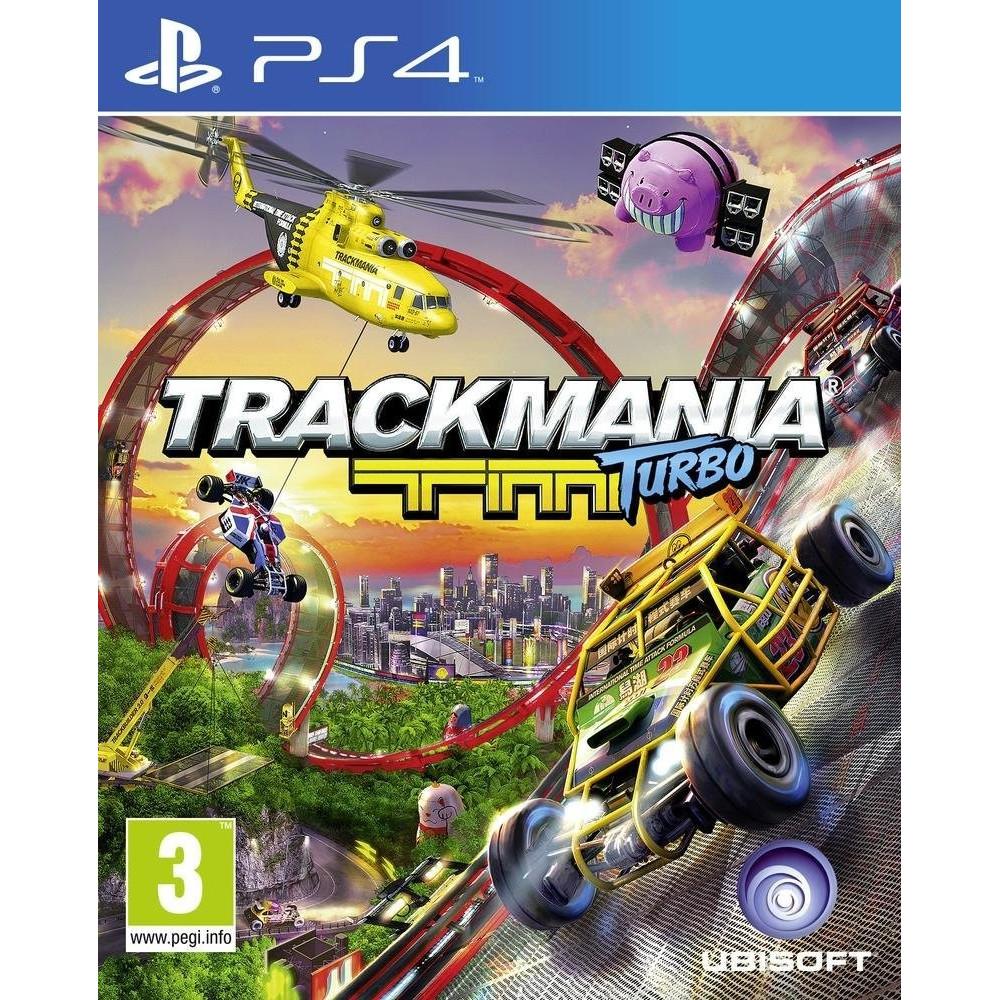 TRACKMANIA PS4 UK NEW