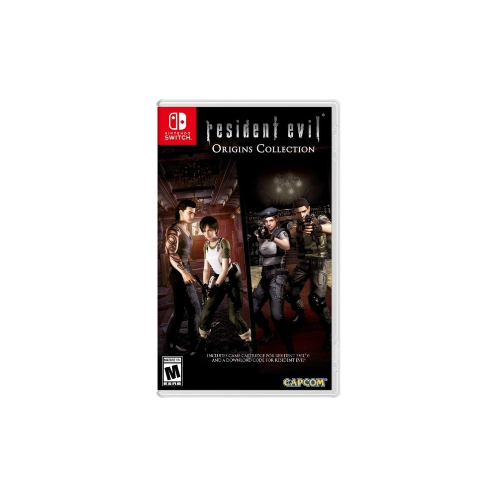RESIDENT EVIL ORIGINS COLLECTION SWITCH US OCCASION