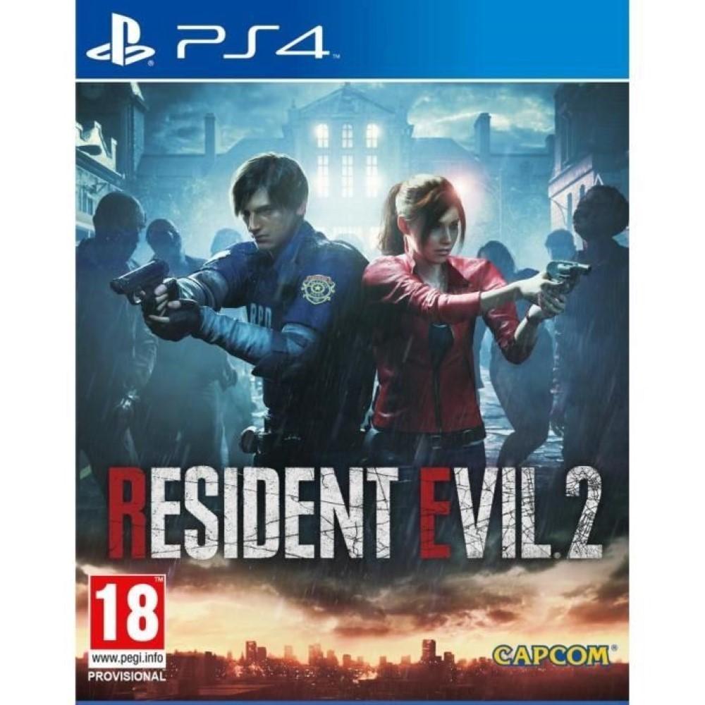 RESIDENT EVIL 2 PS4 ALLEMAND AVEC TEXTE EN FRANCAIS OCCASION