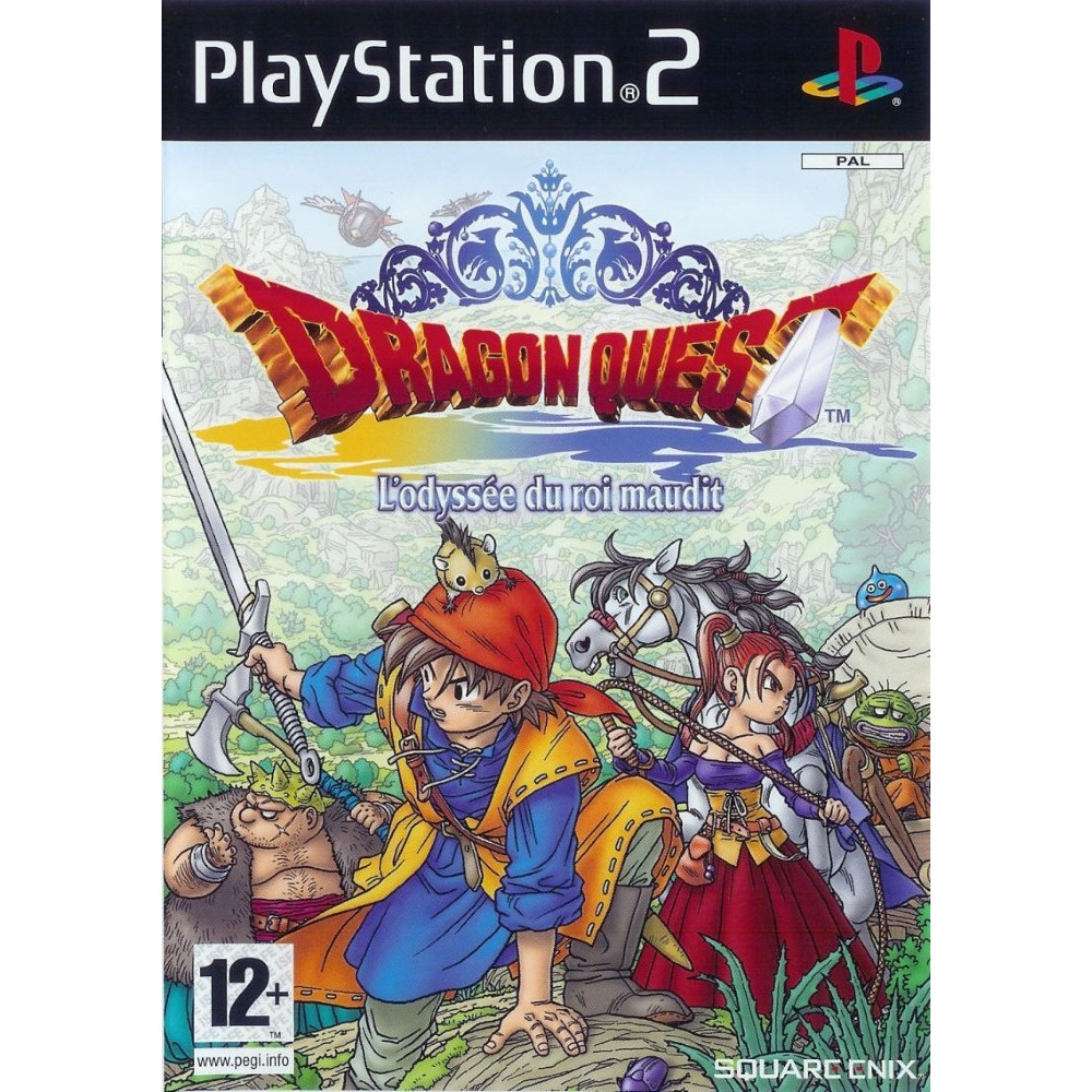 DRAGON QUEST - L ODYSSEE DU ROI MAUDIT PS2 PAL-FR OCCASION
