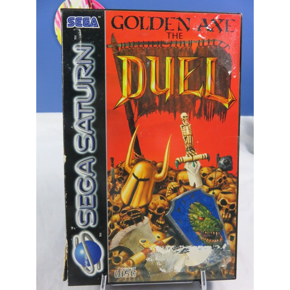 GOLDEN AXE THE DUEL SATURN PAL-EURO OCCASION